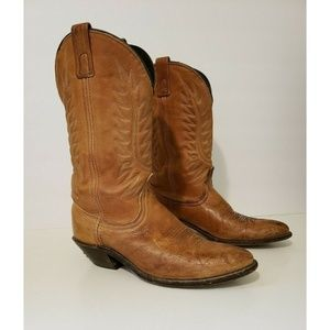 Laredo Womens Western Cowboy Boots Vintage